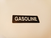 Gasoline Label